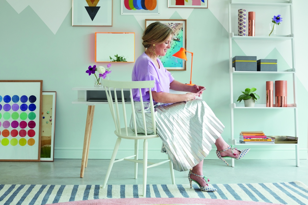 interior designer sophie robinson uses colour psychology to help people to design tehir own authentic interiors