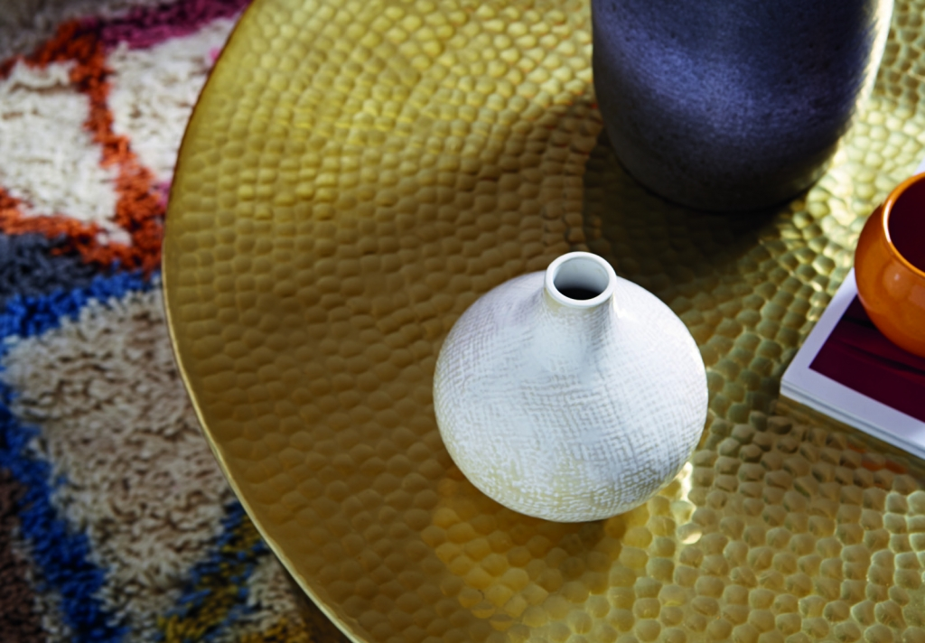 te autumn interior has a handmade feel