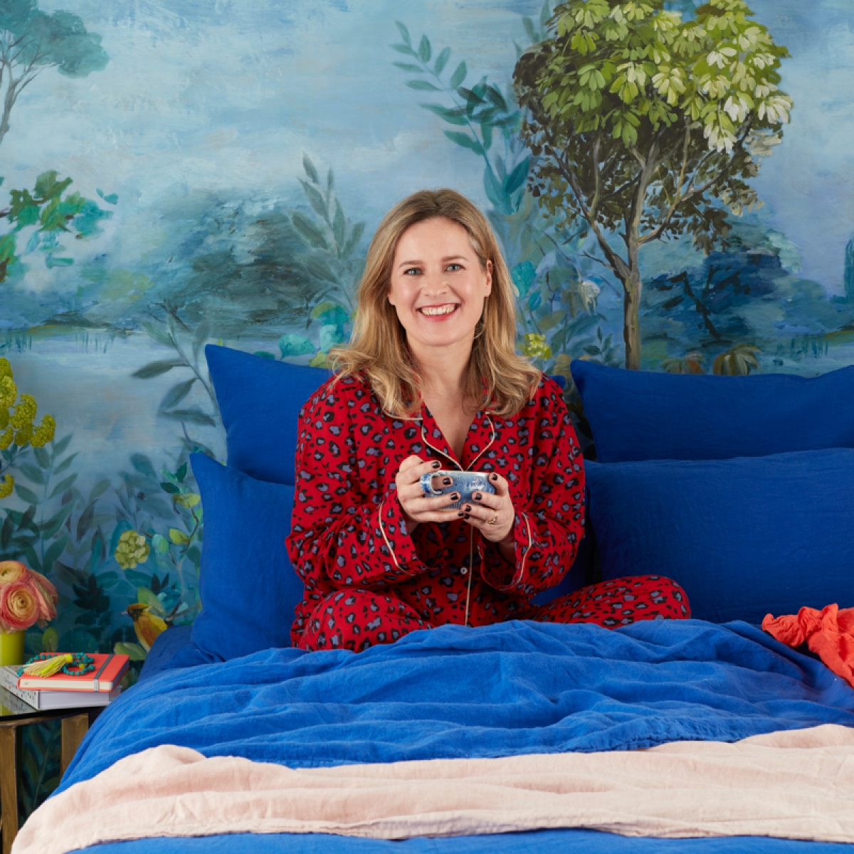New range of bedlinen launched by interior designer and judge of the graet interior design challenge Sophie Robinson