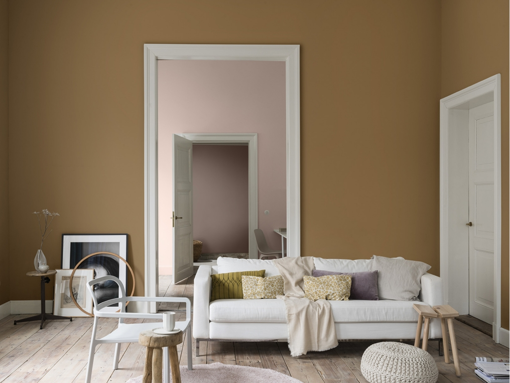 dulux colour of the year colourfutures 2019 spiced honey with blush pink