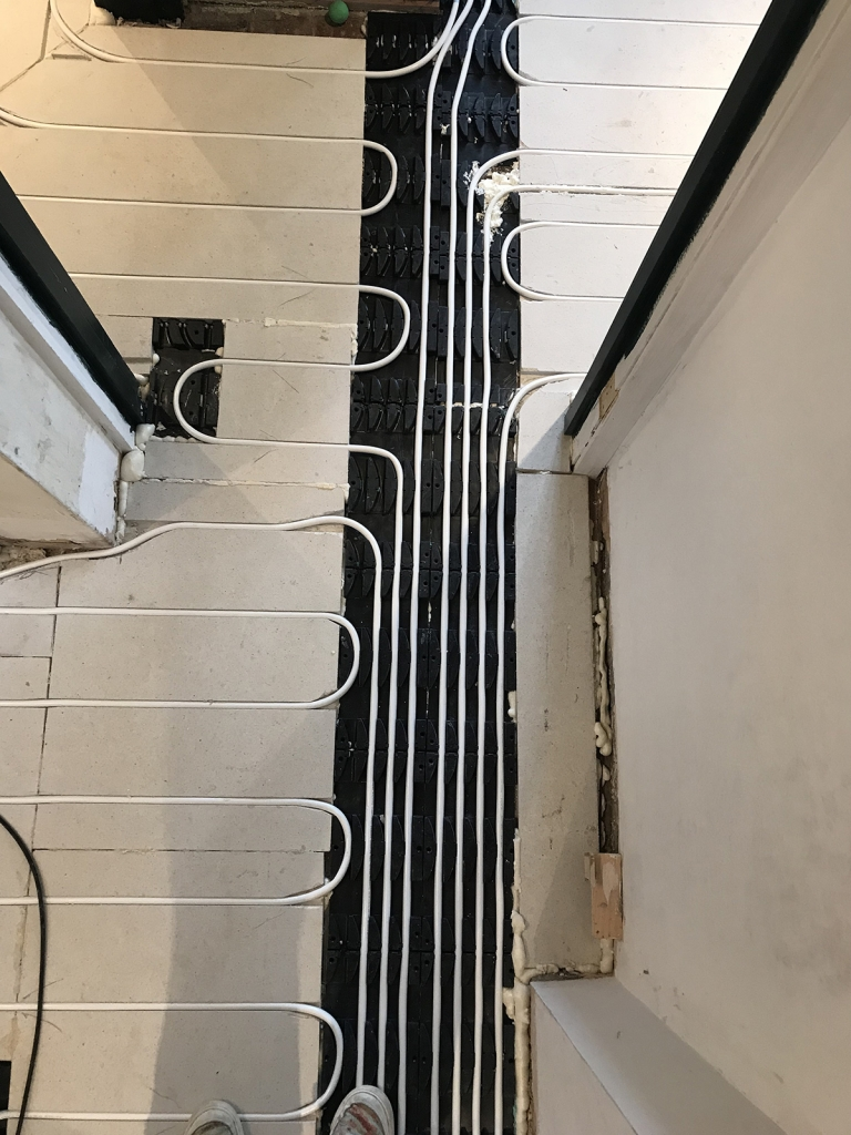 Interior Designer Sophie Robinson Victorian Sussex farmhouse renovation underfloor heating
