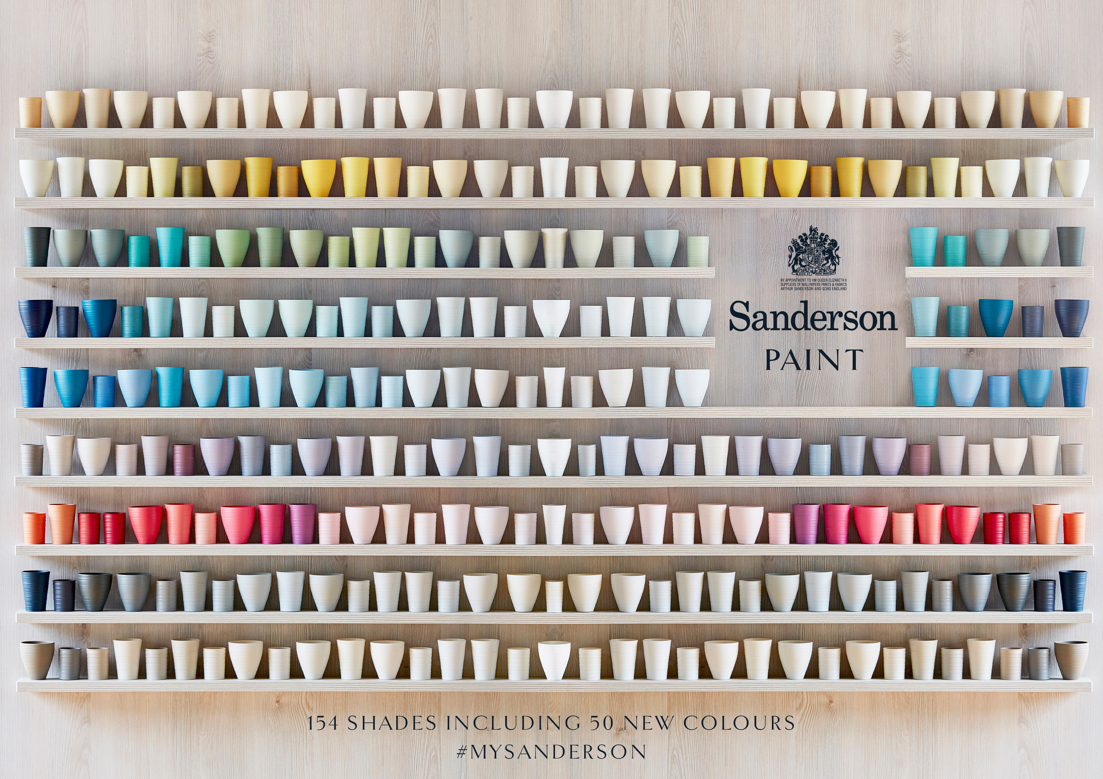 Znalezione obrazy dla zapytania sanderson paints