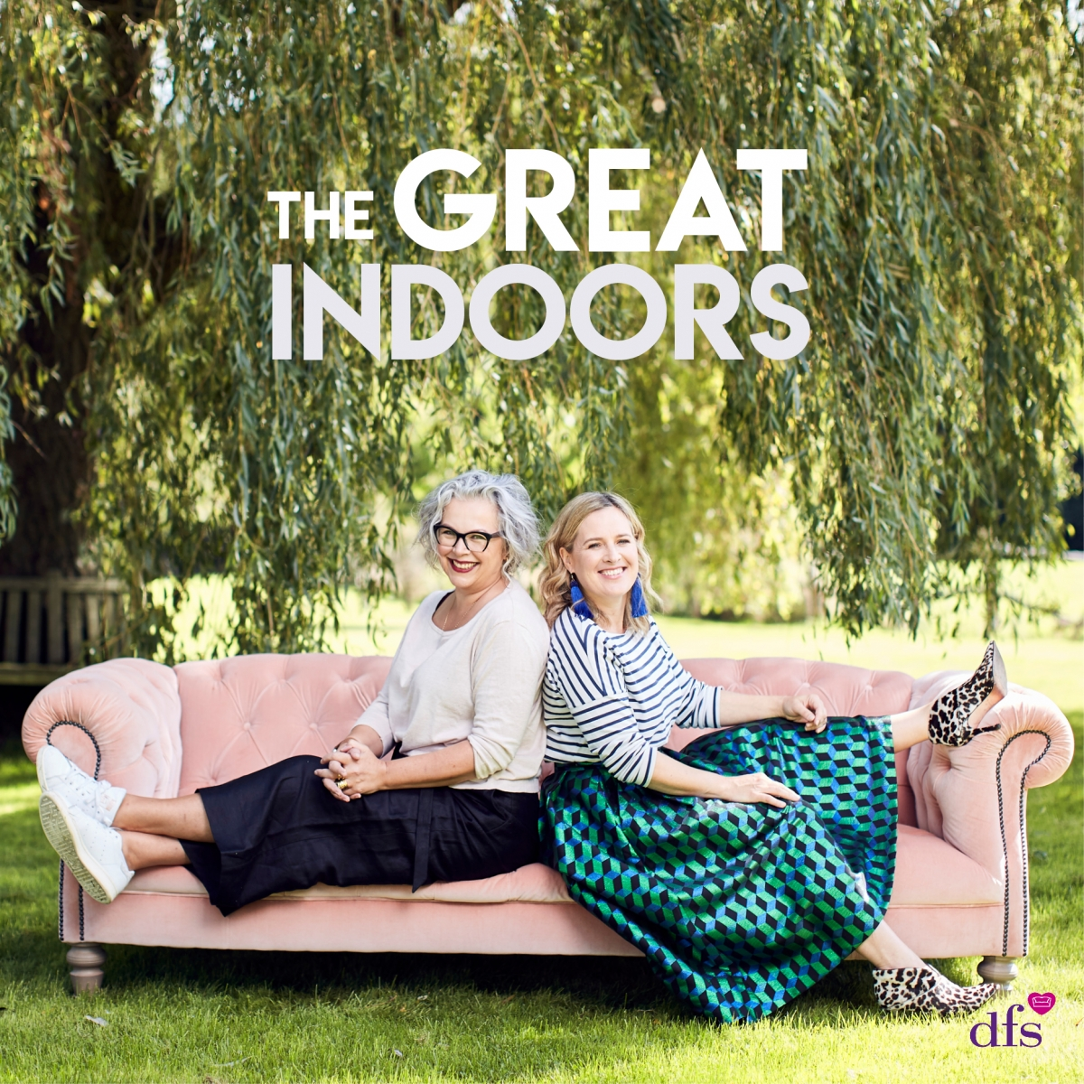 the Great Indoors podcast presented by TV presenter Sophie Robinson and author Kate watson Smyth