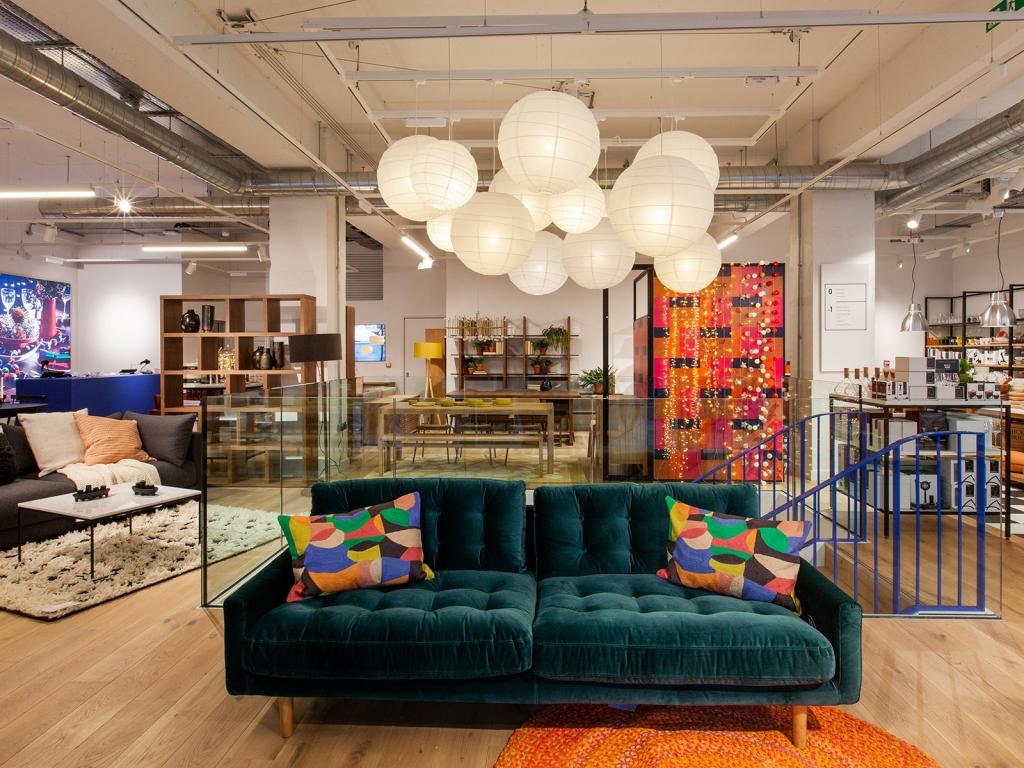 Interior designer Sophie Robinson attends Habitat opening in Brighton