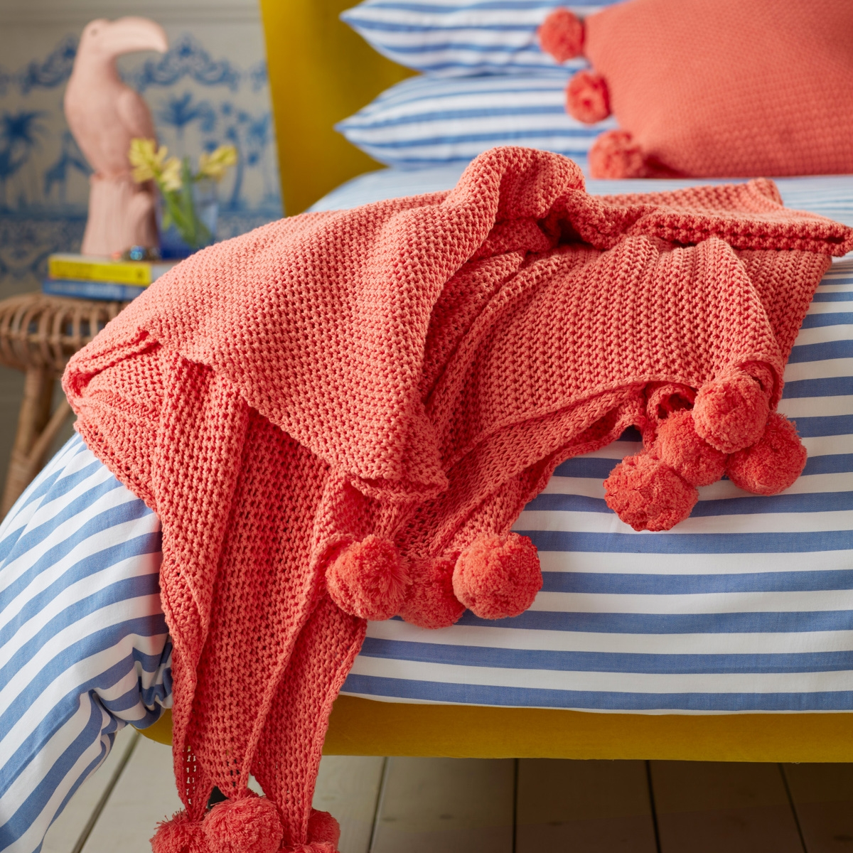 Interior designer and colour lover Sophie Robinson picks her favourite interior products following the Pantone colour of the year Living Coral Secret Linen Store