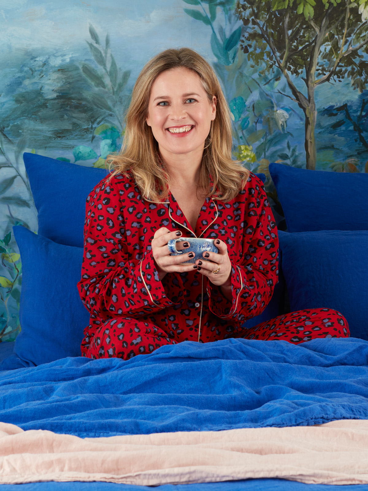Interior designer and colour scheme expert shares her Christmas gift ideas which include these leopard print pyjamas by Universe of us