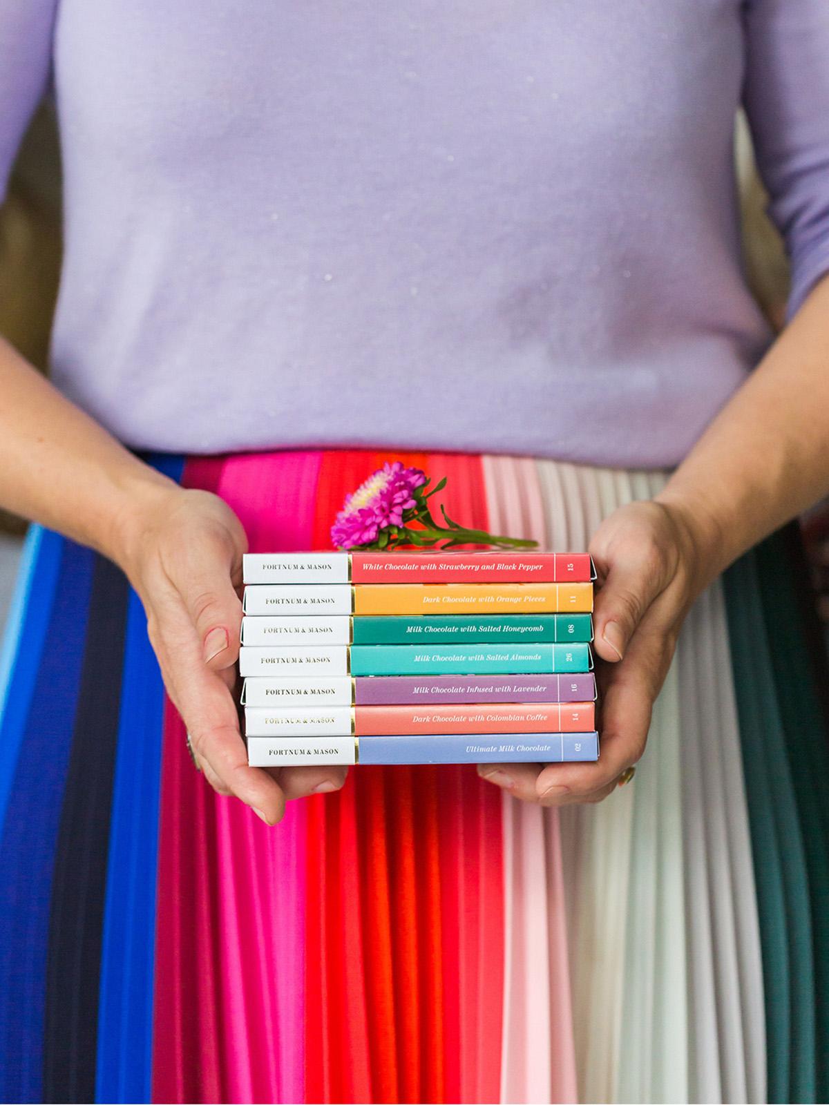 Interior designer Sophie Robinson shares her colur loving christmas gift ideas
