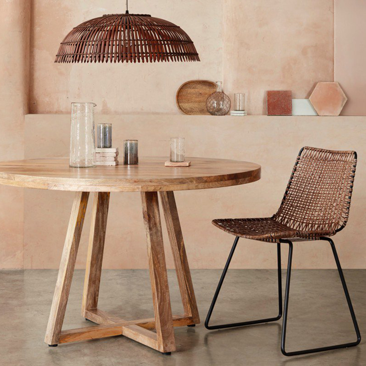 interior designer sophie robinson reports on the interior design trends for 2019 including the trend for cane and rattan furniture