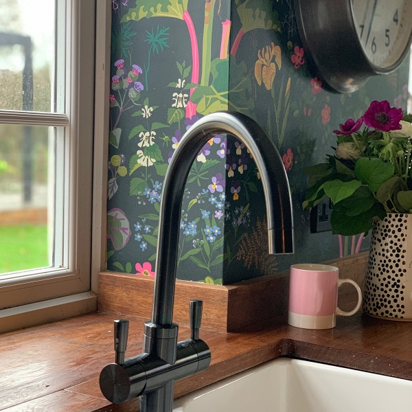 interior designer sophie robinson explains all about instant boiling taps, Sophie's kitchen tap