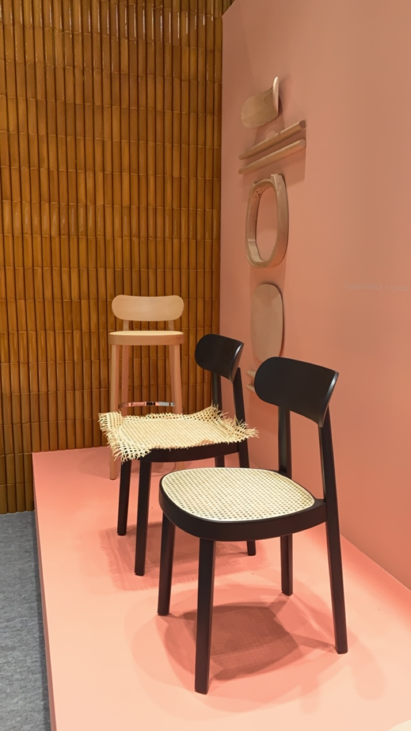 Interior deisgner Sophie Robinson reports on the interior design trend for cane furniture at maison and objet.