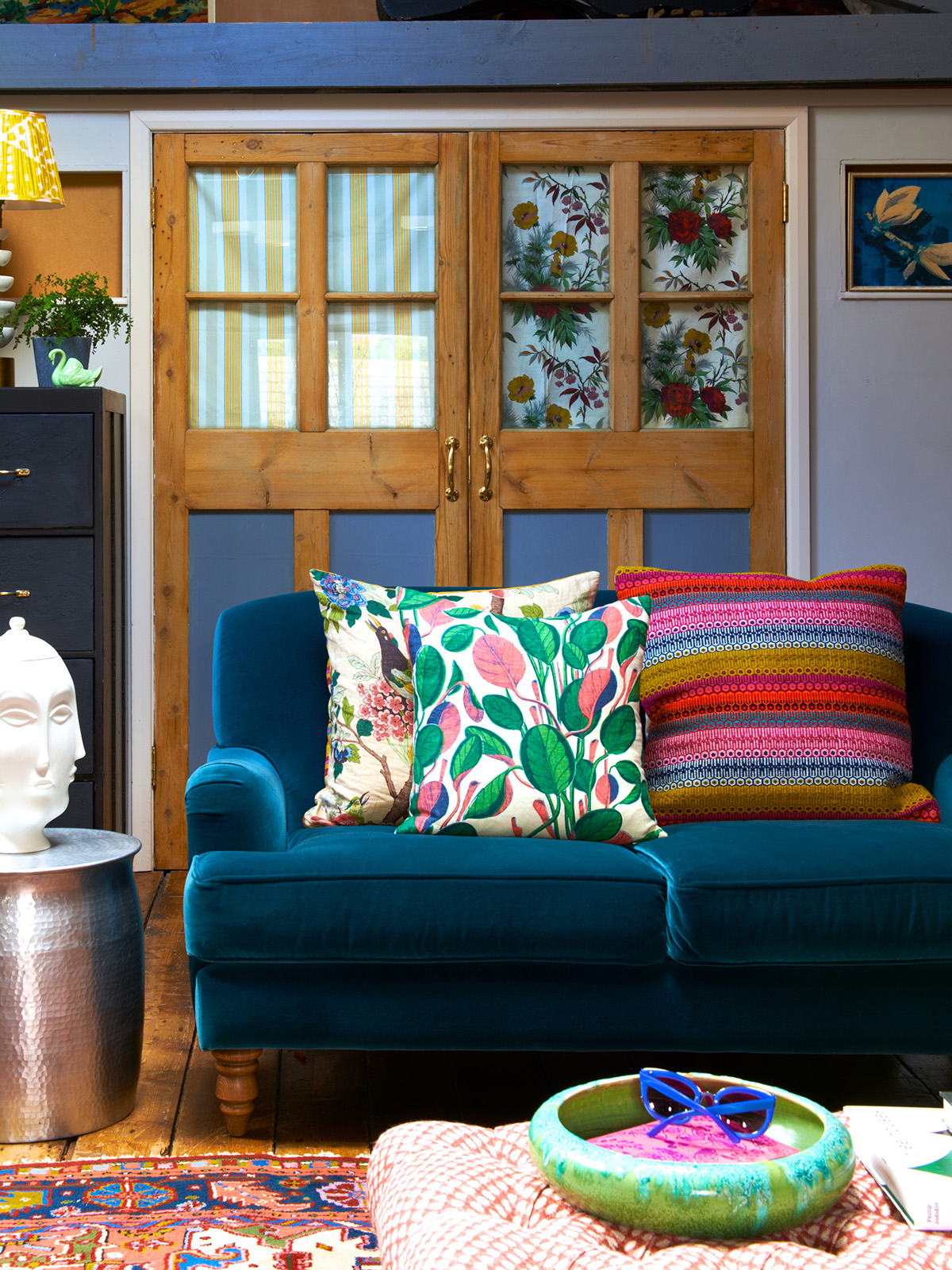 Interior designer and self confessed colour queen Sophie Robinson discusses