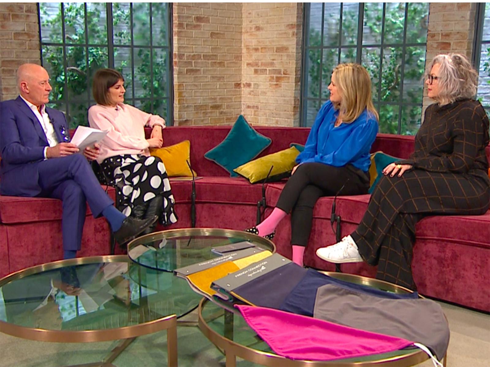 Sophie Robinson and Kate Watson-Smyth discuss The Great Indoors podcast on Ireland AM Morning show #sophierobinson #interiordesign #podcast #thegreatindoors