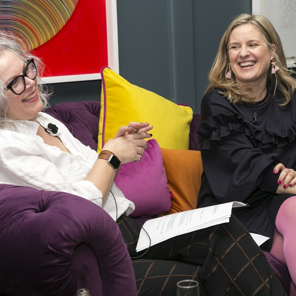 Sophie Robinson and Kate Watson-Smyth present their live Podcast The Great Indoors recorded at The Dean Hotel in Dublin. Discussing all things interiors and the favourite Design Crimes #sophierobinson #interiordesign #podcast #thegreatindoors