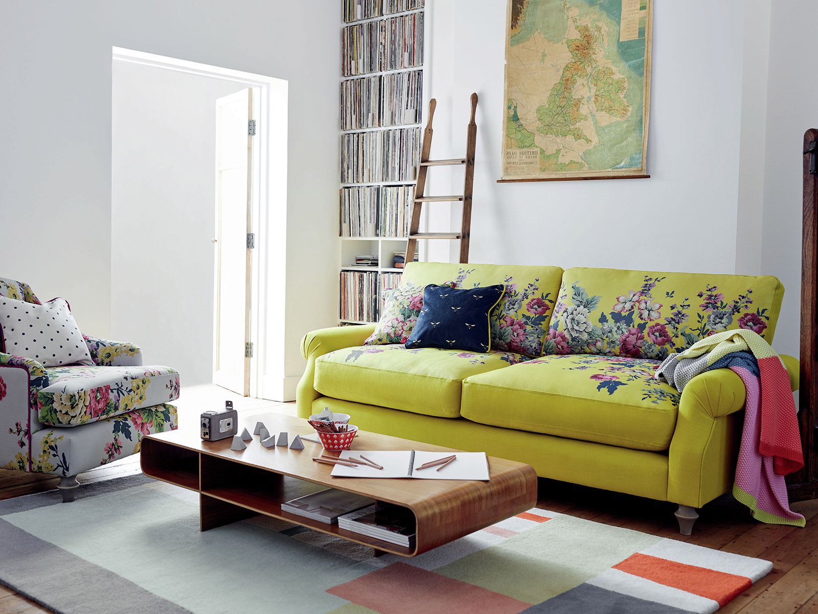 Colour lover and interior Designer Sophie Robinson selects her favourite yellow pieces on her colour crush feature