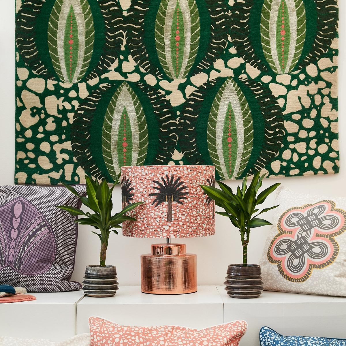 Sophie Robinson interviews textile designer Eva Sonaike. She shares her journey from journalist to designer and her inspirations. #sophierobinson #designerspotlight #evasonaike