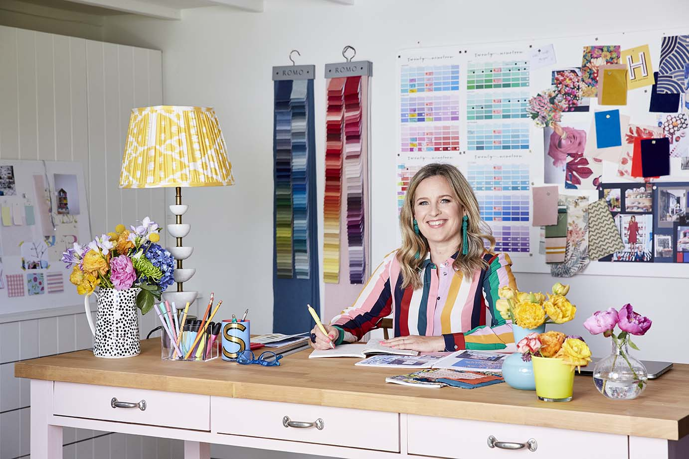 be your own interior designer interior design online course by Sophie Robinson shows you the creative deisgn process