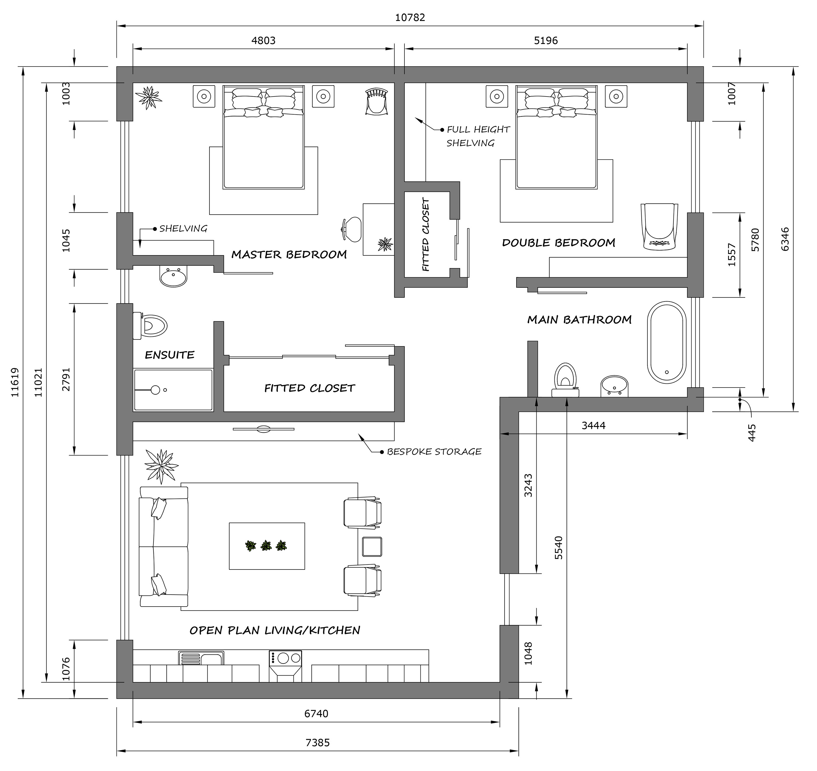 measuring out for floor plan for your new home is essential to interior design success