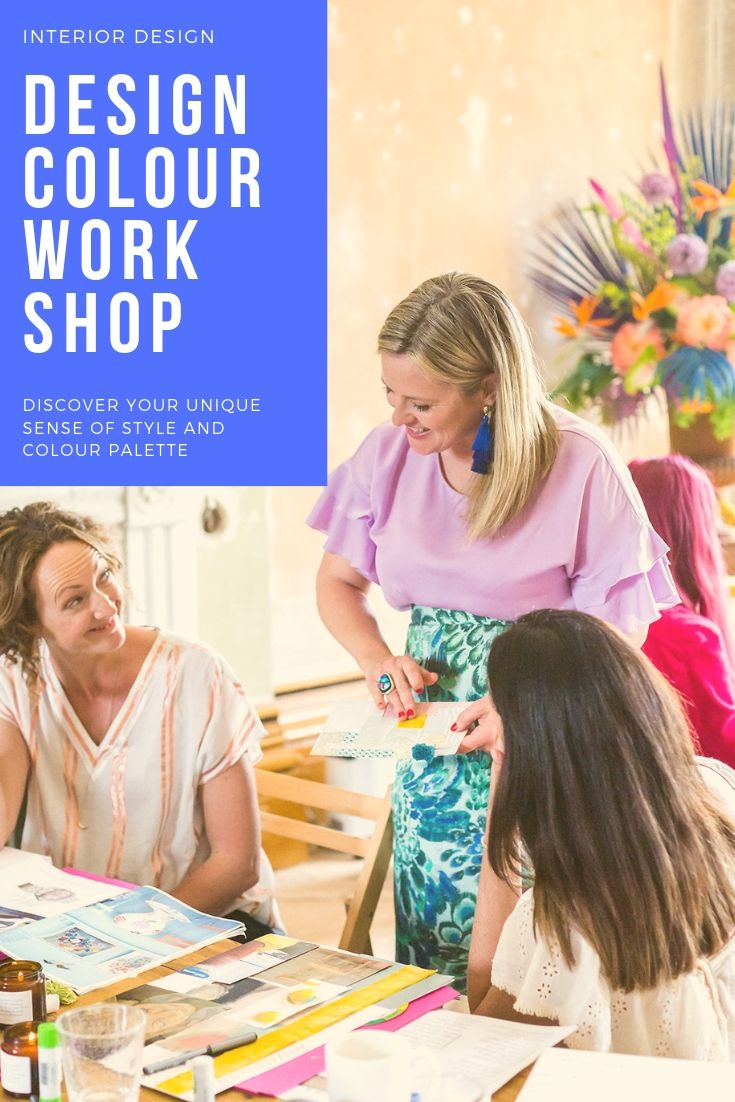 interior design colour workshop hosted by interiors colour guru sophie robinson