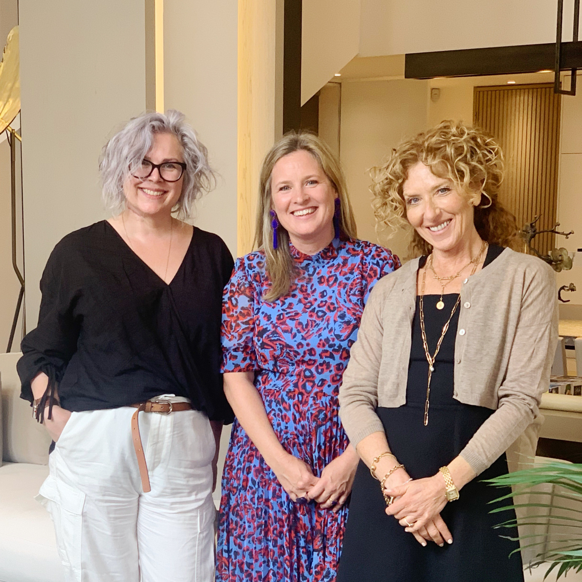 Interior designer Kelly Hoppen is interviewed about her home for the Great Indoors podcast with kate Watson Smyth and Sophie Robinson. #sophierobinson #kellyhoppen #thegreatindoors