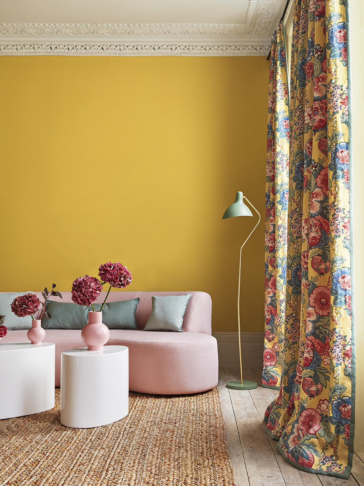 Colour crush  How to decorate with yellow and pink  ndash  Sophie Robinson