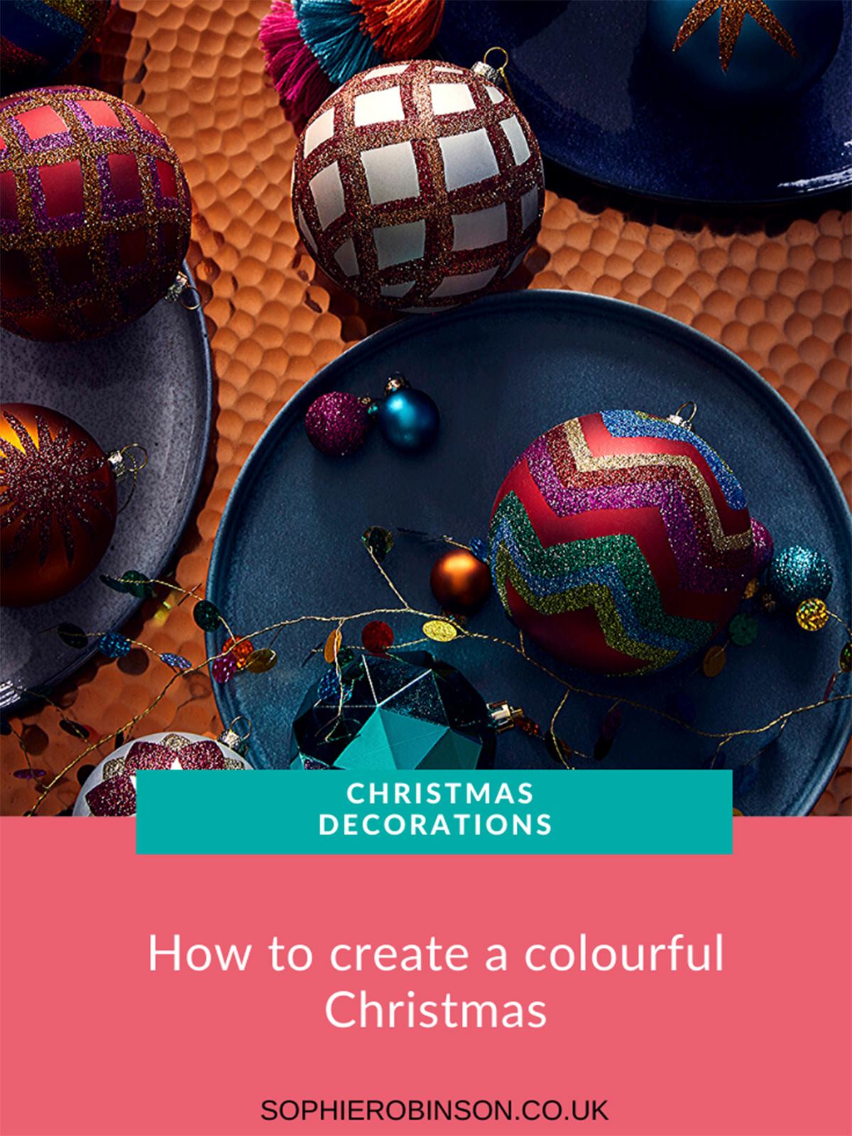 Interior designer Sophie Robinson collaborates with Habitat UK to create three Christmas looks. #habitat #christmas #sophierobinson