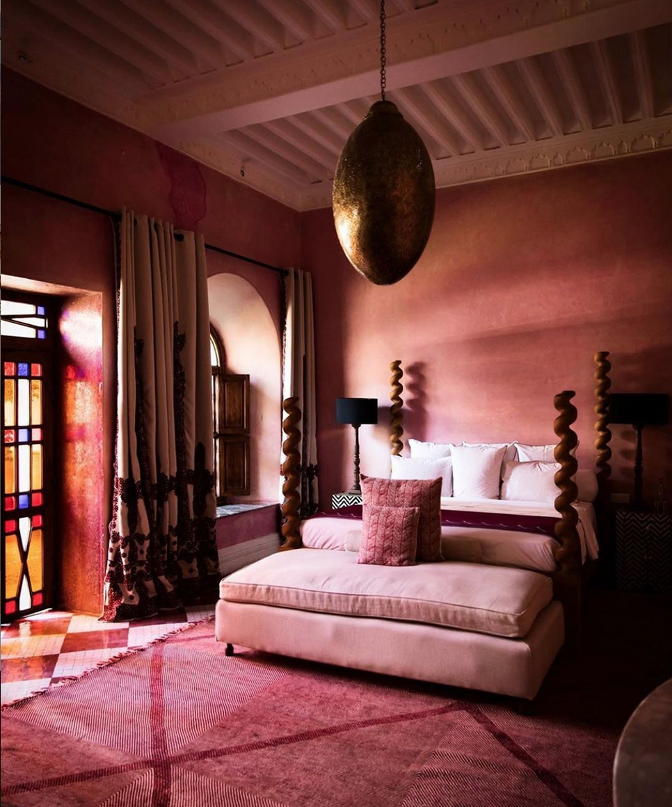 Interior design retreat at the El Fenn in Marrakech is hosted in Februrary 2020, click through for more details